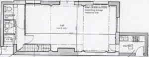 The Old Manual Room - Floor Plan