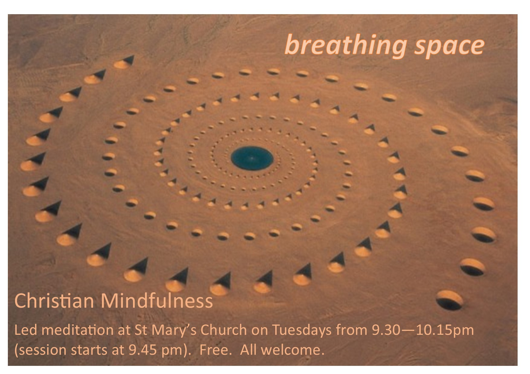 Breathing space flyer
